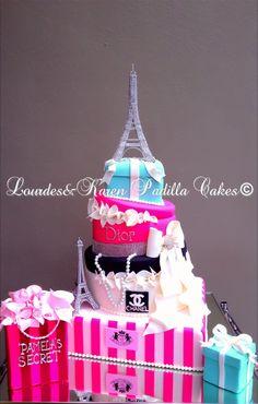 Fashion Cake for a diva!