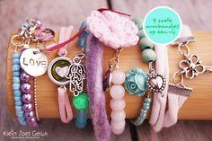 Vrolijke armbandjes maken - Klein Zoet Geluk
