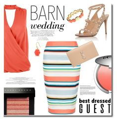 """Barn Wedding"" by mslewis6 ❤ liked on Polyvore featuring New Look, It Cosmetics, Yves Saint Laurent, Bobbi Brown Cosmetics, Gloria Vanderbilt and Trina Turk"
