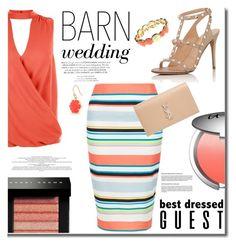 """Barn Wedding"" by mslewis6 ❤ liked on Polyvore featuring New Look, Valentino, It Cosmetics, Yves Saint Laurent, Bobbi Brown Cosmetics, Gloria Vanderbilt and Trina Turk"