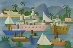 Arte Cultural - Por Euriques Carneiro: Acervo do Banco Central reúne obras das mais significativas de autoria de Portinari