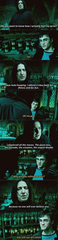 Snape was a genius