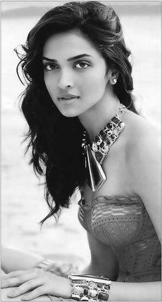 Deepika Padukone Black and White