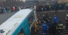 Bus Driver Plows Into Crowd In Moscow, Killing Five