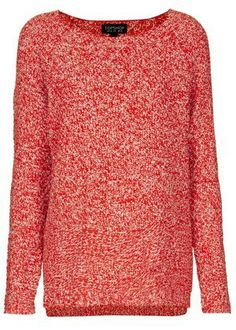 KNITTED TWO TONE SLOUCH JUMPER, $40, TOPSHOP.COM- 50 Under $50 Statement Sweaters