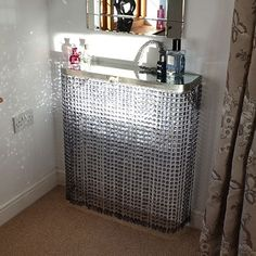 Crystal radiator cover: