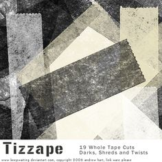 Tizzape Tape Brushes by KeepWaiting.deviantart.com