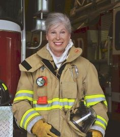 """68-year-old Andrea Peterson has an amazing story to tell. She knew, after being saved from a burning building when she was young, that she wanted to be a firefighter when she grew up. She voiced this dream moments after being saved to the very firemen who rescued her.   They laughed and told her, """"You'll be a good mommy, you'll be a good teacher, maybe you'll be a nurse, but you can never be a fireman.""""  Decades later, Andrea has realized her dream of being a firefighter."""