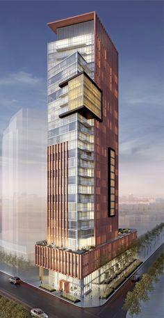 Original Rendering of Yorkville Condominiums by Lifetime Developments
