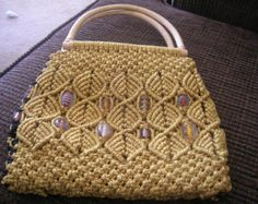 macrame purses and bags