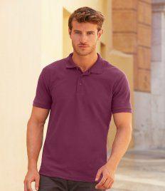 Fruit of the Loom Poly/Cotton Pique Polo Shirt