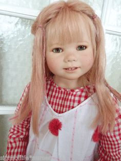 Annette Himstedt Gretchen...so lifelike! Love these dolls