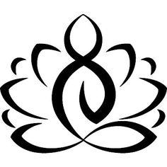 Muurstickers ZEN - Muursticker Lotus   Ambiance-sticker.com