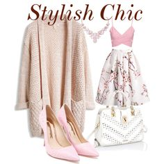 Stylish Chic by zjay4life on Polyvore featuring polyvore moda style Sophia Webster Humble Chic
