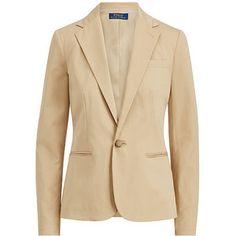 Polo Ralph Lauren Stretch Cotton Twill Blazer