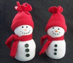 Sock snowman class party, did this, filled this with rice totally easy and fun to do, you should try this, seriously!
