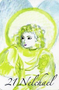 (21) NELCHAEL (Kabbalistic angel) 02-06 July, provides essence of: Eagerness to Learn. (ángel Cabalístico) 02-06 julio, aporta esencia de: Afán de Aprender.