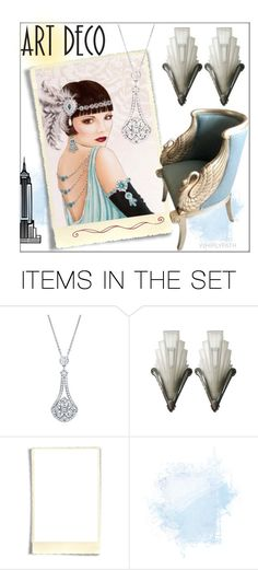 """Art Deco!"" by whirlypath ❤ liked on Polyvore featuring art"