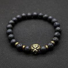 Alloy Metal Happy Lucky Chinese Zodiac Dragon Beads Bracelet Wrist Jewelry
