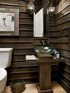 Country Chic Bathroom by Mademoiselle Heureux