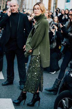 Sokak Stili: 2017-18 Sonbahar/Kış Paris Moda Haftası 7. Gün