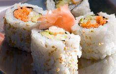 Uramaki - inside our sushi roll