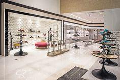 Manolo Blahnik store by Nick Leith-Smith Doha  Qatar