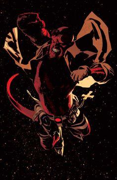 Hellboy by Adam Hughes//Full Color/Adam Hughes/ Comic Art Community GALLERY OF COMIC ART
