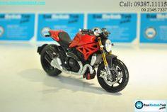 Mô hình moto Ducati Monster 1200S | BanMoHinhTinh.com