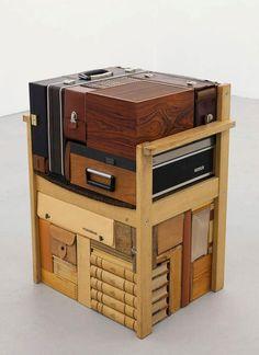 Michael Johansson vintage suitcases   Yellowtrace
