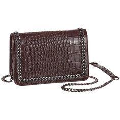 Modische braune #Tasche von #Laura #Scott. Sie begeistert in angesagter #Kroko #Optik. ♥ ab 59,99 €