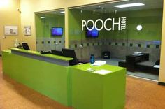-Repinned-Mission Valley Pooch Hotel reception.