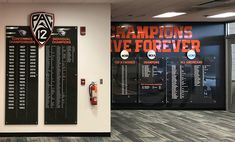 Oregon State Wrestling Facility - Premier Press    #environmental #branding #graphics #signage #graphics