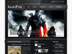 GameFun a magnificent WordPress theme, it includes easy to use administrative panel, custom widgets, slider, menus and lots of other useful features. Theme developed for a games website, but you can easy adapt it for your wishes.
