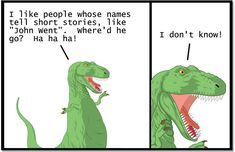 """This is probably the most famous two-panel Dinosaur Comics sequence ever. You've read it online, you've seen it reblogged without credit on Tumblr, but now you can hang it in your wall, place of work, or time machine! This is the perfect poster for people who like people whose names tell short stories, like """"John Went"""". Where DID he go?? Print Info: 11"""" x 17"""", printed on high quality Epson Enhanced Matte Paper on our fancy Epson Stylus Pro 9800 printer. Ships in a plastic tube in a fat…"""