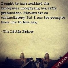 The little prince, Prince and Words quotes on Pinterest