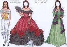 Paulette Goodard paper dolls | PAULETTE GODDARD PAPER DOLL | Marges8's Blog