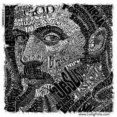 One of the most beautiful pieces of artwork I have ever seen - names of Jesus