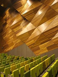 Melbourne Convention Centre - largest use of FSC certified timber at the time it was build.