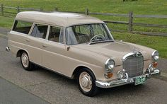 1964 Mercedes Benz Fintail Wagon::