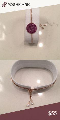 Beautiful bracelet new in box Sterling silver plated rose gold beautiful Desire Jewelry Bracelets