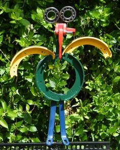 Recycled Metal Yard Art   Recycled Art , Sculpture  