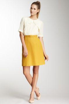Orla Kiely Silk and Linen Dress
