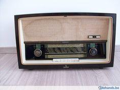 Gebruikt: Oude radio (Radio's) - Te koop in Asse