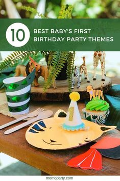Most Popular Baby's First Birthday Themes