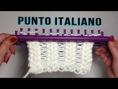 PUNTO ARROZ TELAR RECTANGULAR// Tutorial completo con inicio y remate del tejido - YouTube