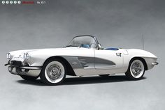 1961 Chevrolet Corvette Roadster.