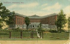 Resthaven, c 1912. Historical Image   Wisconsin Historical Society