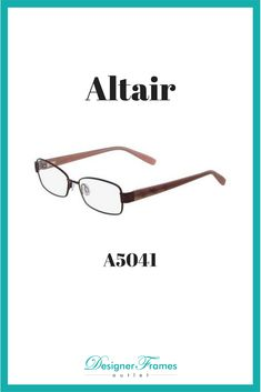 d77098bb742a Fresh Eyewear from Designer Frames Outlet · Altair A5041. Great frames on  sale now. Designer Frames Outlet Designer Frames