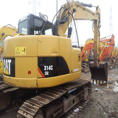 Used Excavator CAT High efficiency CAT in second hand can be available from our industry. It has a good appearance with wel. Caterpillar Excavators, Used Excavators, Komatsu Excavator, Engineering, Bucket, Conditioner, Construction, Building, Technology